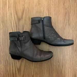 Earth 'Atlas' leather ankle bootie